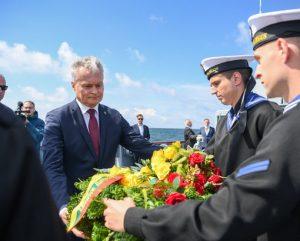 G. Nausėda lankosi Klaipėdoje | prezidentas.lt nuotr.