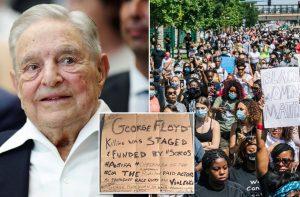 Džordžas Sorošas viešai pripažino, kad finansuoja JAV siaubiančius riaušininkus ir banditus | EPA nuotr.