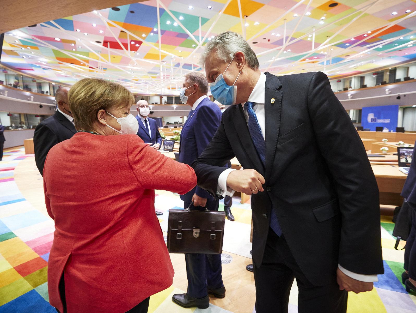Lietuvos Prezidentas kviečia Europos lyderius vieningai kovoti su istoriniu revizionizmu   lrp.lt nuotr.