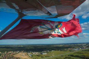 Baltarusijos palaikymo skrydis | aopa.lt nuotr.