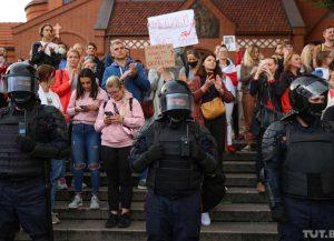 Devynioliktoji pasipriešinimo diena Baltarusijos diktatoriui | TUT.by nuotr.
