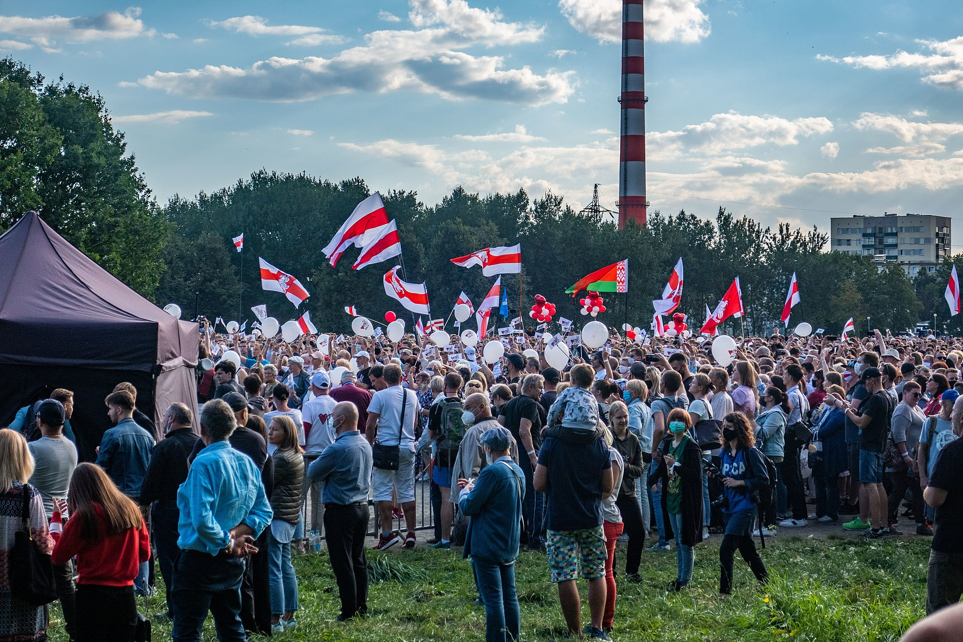 Baltarusija bunda | wikipedia.org nuotr.
