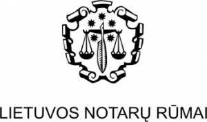 Lietuvo notarų rūmai  l LNR  logo
