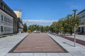 Prasidės antroji Panevėžio Laisvės aikštės atnaujinimo dalis   Panevėžio miesto savivaldybės nuotr.