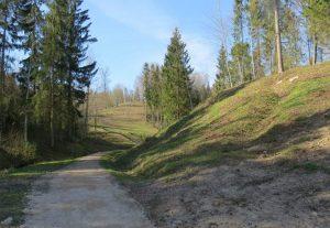 Sutvarkytas ir pritaikytas lankymui Gegrėnų archeologinis kompleksas – du piliakalniai bei senovės gyvenvietė | lrv.lt nuotr.