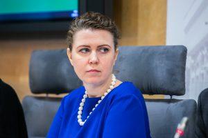 Seimo narė socialdemokratė Dovilė Šakalienė   Olga Posaškova, Seimo kanceliarijos archyvo nuotr.