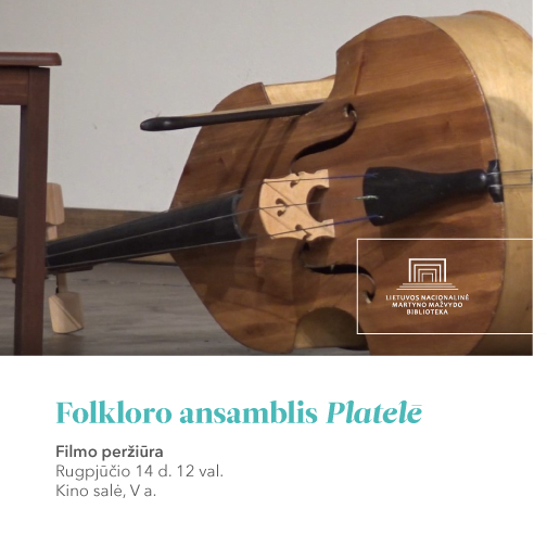 "Filmas ""Folkloro ansamblis ""Platelē"" | lnb.lt nuotr."