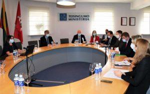 Intelektinės nuosavybės apsaugos koordinavimo komisijos posėdis | tm.lt nuotr.