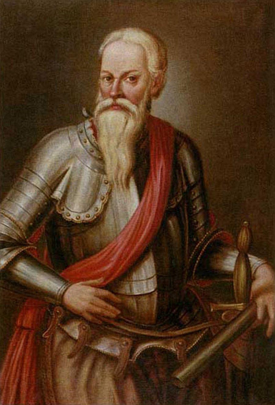 Mikalojus Radvila Rudasis | Nežinomo autoriaus XVII a paveikslas