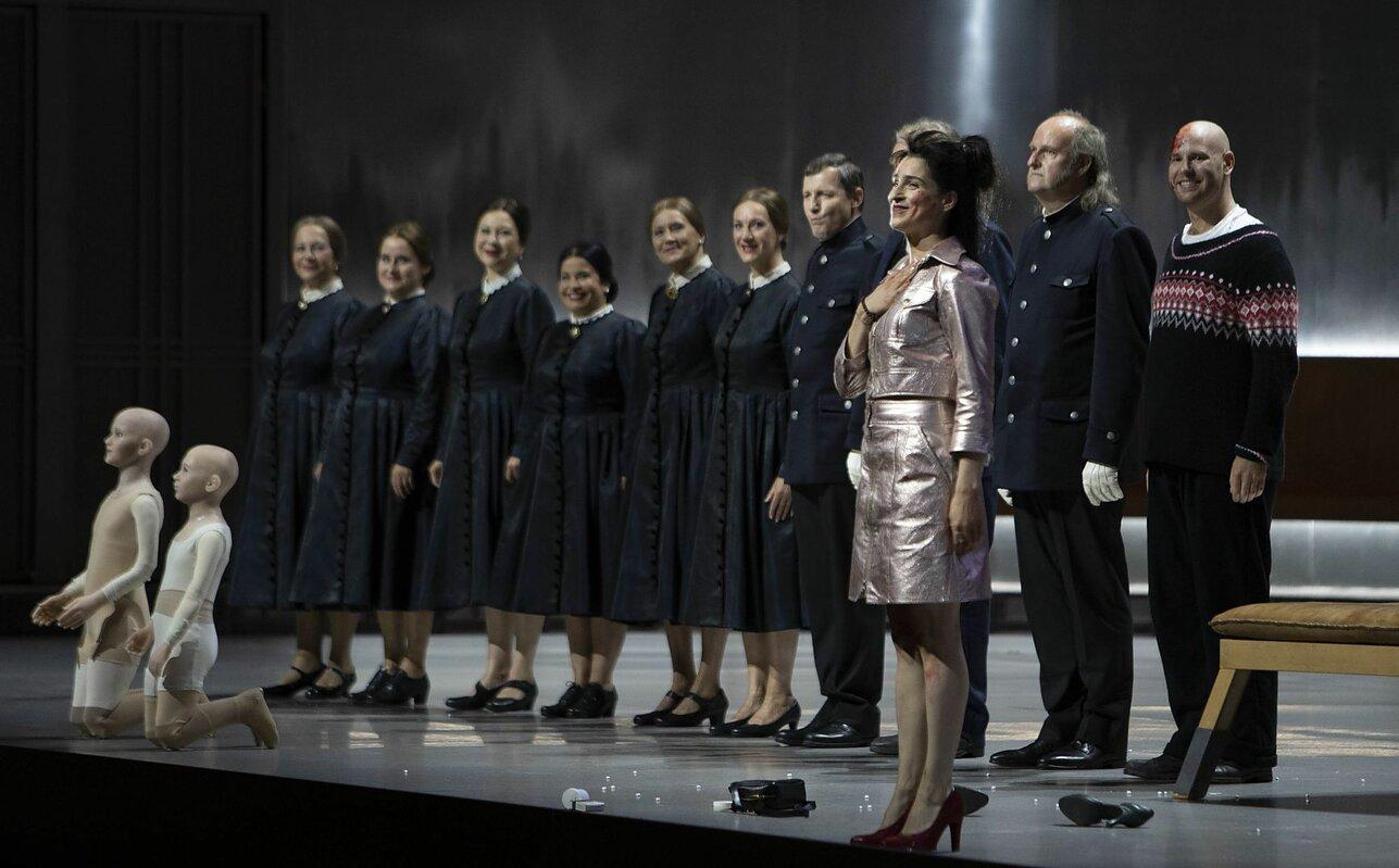 Aušrinė Stundytė – Elektra, Asmik Grigorian – Chrysothemis | B. Uhligo nuotr.