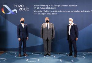 Europos Sąjungos (ES) užsienio reikalų ministrų susitikimas | urm.lt nuotr.