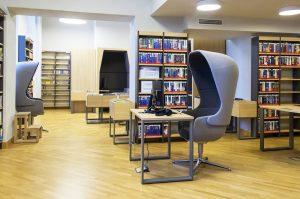 Adomo Mickevičiaus biblioteka, Vilnius | Centrinės projektų valdymo agentūros nuotr.