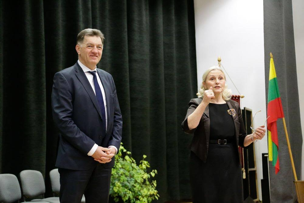 Buvusi mokyklos Danutė Bronė Puchovičienė | VVDG nuotr.