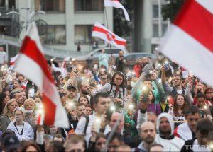 Septynioliktoji pasipriešinimo diena Baltarusijos diktatoriui | TUT.by nuotr.