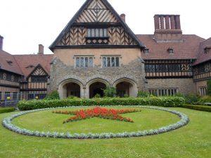 Cecilienhofo rūmai, kuriuose vyko Potsdamo konferencija | P. Stankero asmeninio archyvo nuotr.