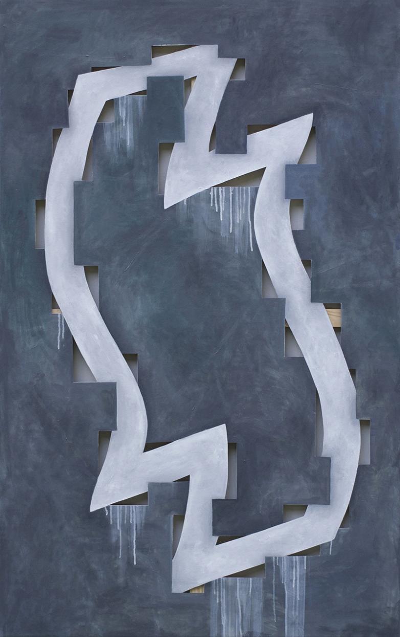 """Eugenijus Nalevaika, """"Flame"""" (Liepsna)   Galerijos """"Meno forma"""" nuotr."""