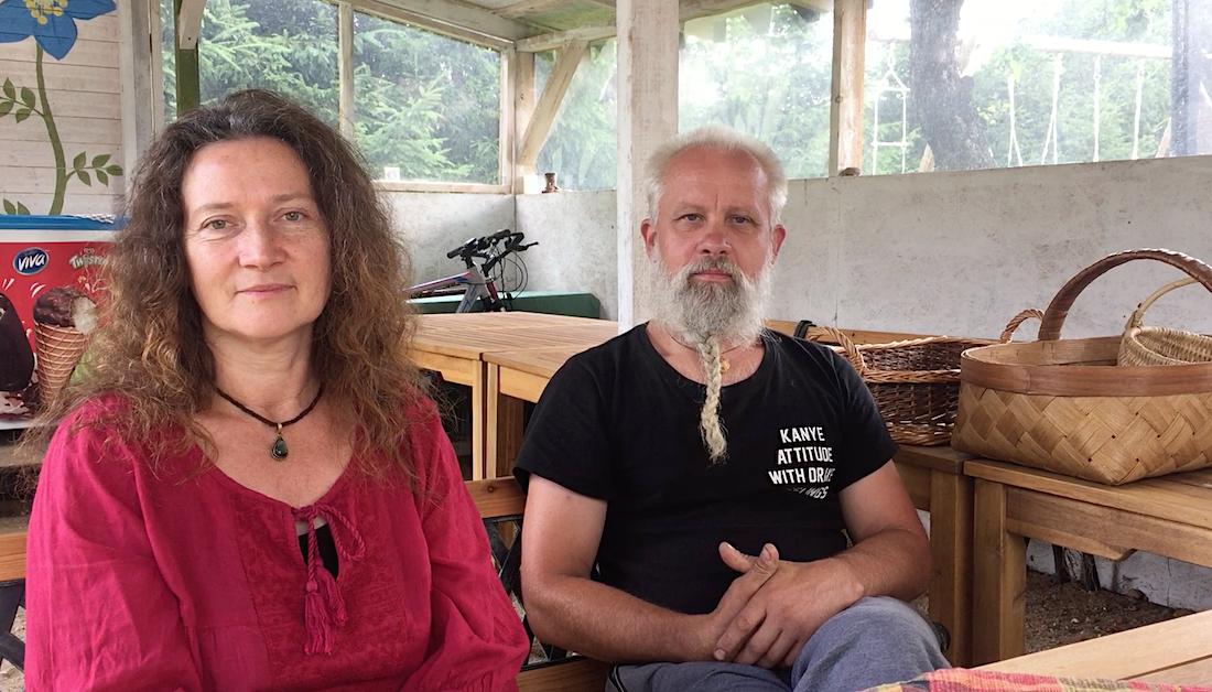Vaiva Jundulaitė-Kosienė ir Giedrius Kosas | Baltijos aplinkos forumo nuotr.
