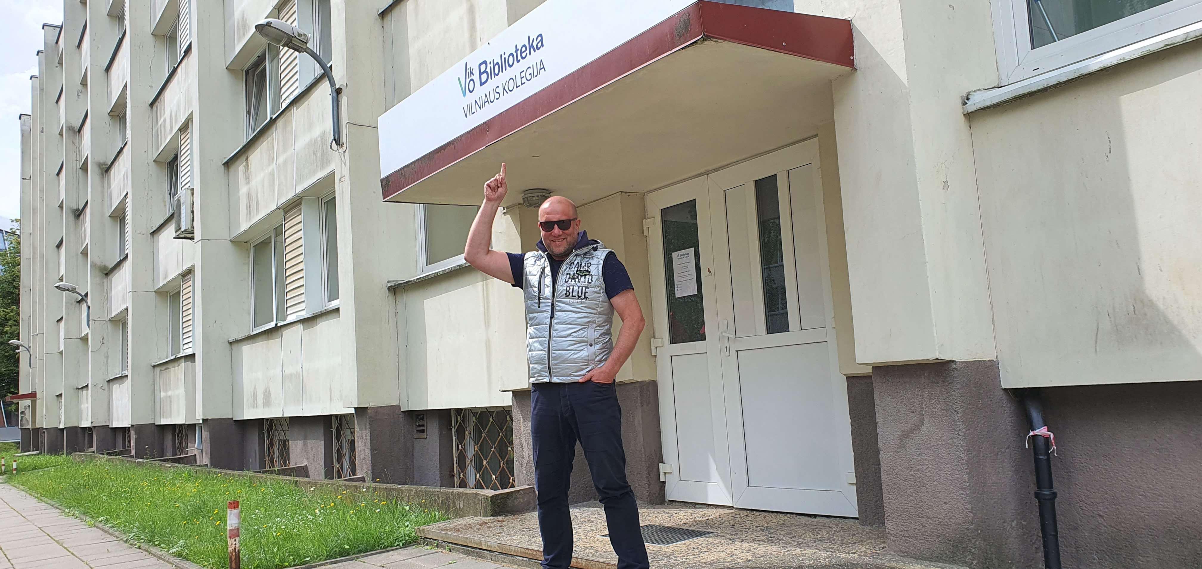 Vilniaus Pedagoginio instituto diskoteka   T. Augulio nuotr.