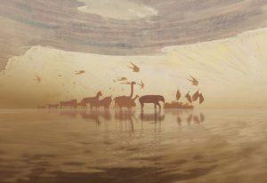 """Kristinos Buožytės filmo """"Angelų takais"""" kadras   Nacionalinės dailės galerijos nuotr."""