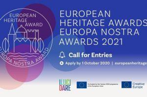 2021 m. Europa Nostra apdovanojimai | vkpk.lt nuotr.