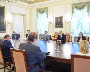 Susitikimas prezidentūroje | prezidentas.lt