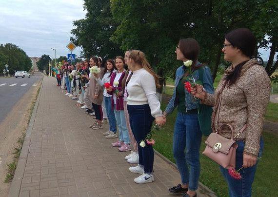 Pasipriešinimas Baltarusijos diktatoriui tęsiasi | TUT.by nuotr.