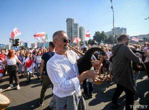 Dvidešimt antrojio pasipriešinimo diena Baltarusijos diktatoriui | TUT.by nuotr.
