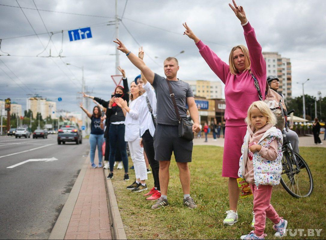 Protestai Baltarusijoje tęsiasi | TUT.by nuotr.