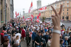 Šešioliktoji pasipriešinimo diena Baltarusijos diktatoriui | TUT.by nuotr.