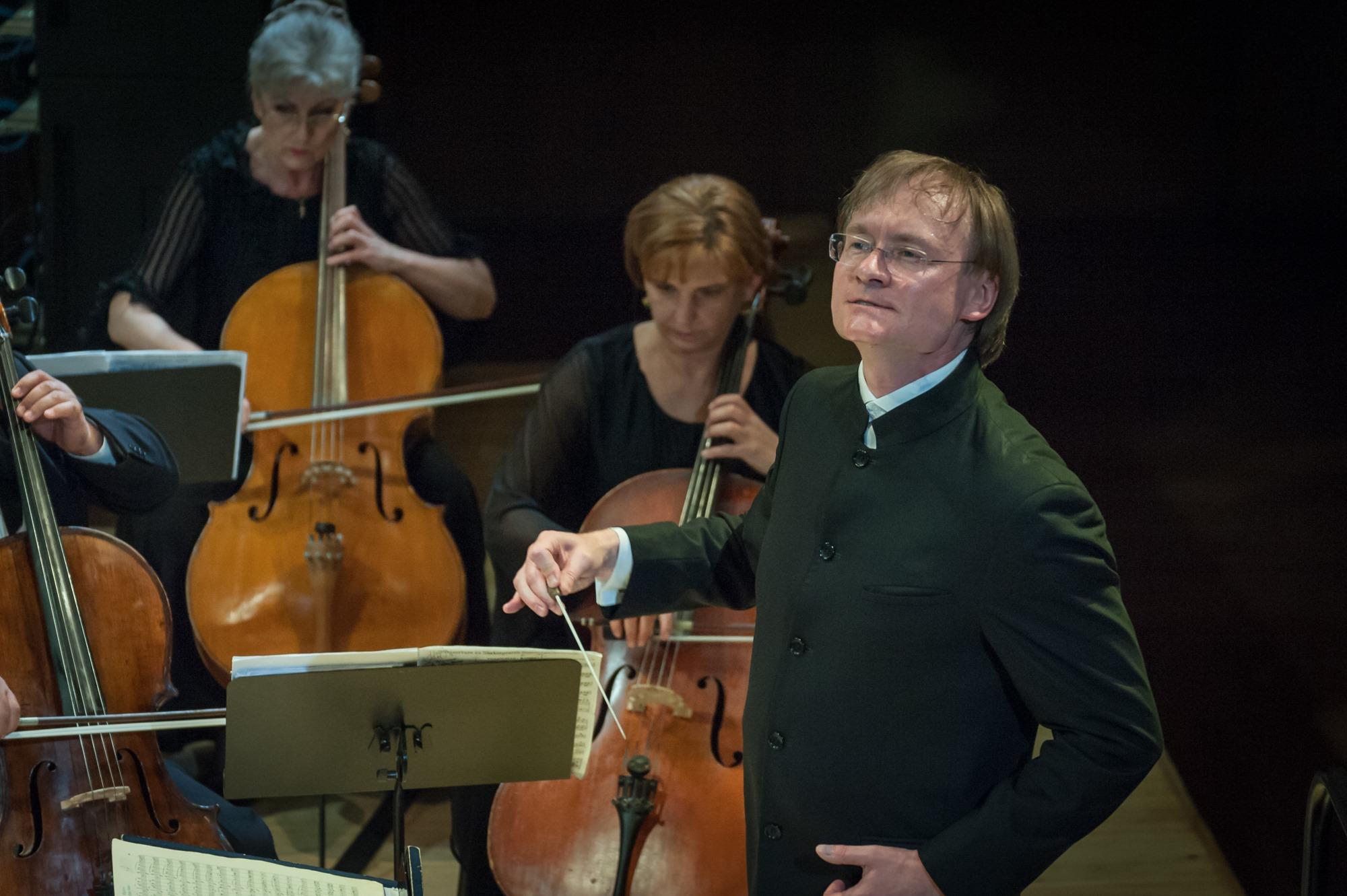 R. Šervenikas ir KVMT orkestras | O. Kasabovos nuotr.