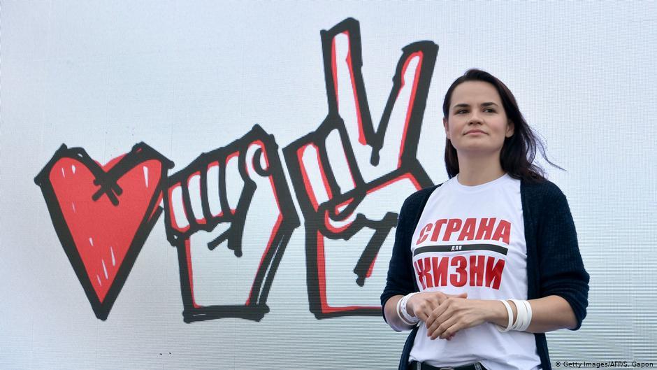 Svetlana Tichanovskaja | rengėju nuotr.