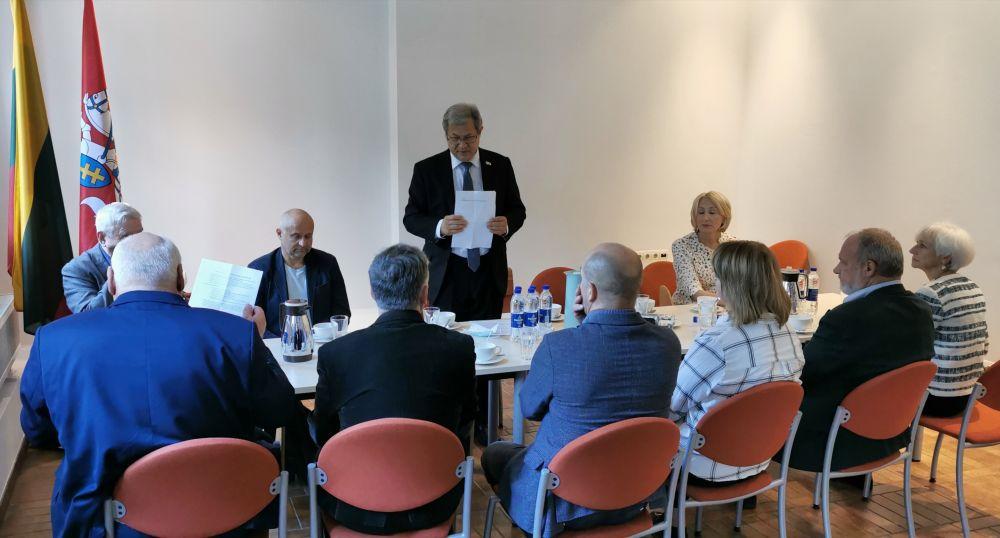 Sukurta LGGRT centro konsultacinė žinovų komisija | genocid.lt nuotr.