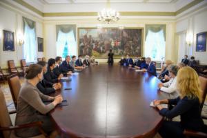Susitikimas su Seimo valdybos nariais | prezidentas.lt nuotr.