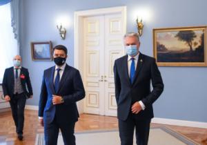 D. Razumkovas ir G. Nausėda | prezidentas.lt nuotr.