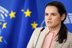 A. Lukašenka turi atsistatydinti, o Astravo AE įjungimas turi būti atidėtas | EP nuotr.