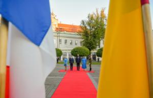 E. Makrono vizitas Lietuvoje | prezidentas.lt nuotr