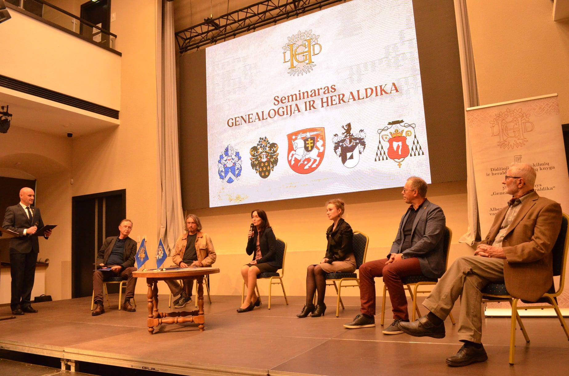 Genealogijos ir heraldikos mokymai | Lietuvos genealogijos ir heraldikos draugijos nuotr.