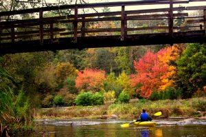 Plaukti baidare rudenį – pats tinkamiausias metas | lrv.lt nuotr.