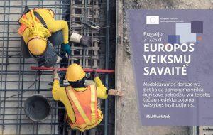 Europos veiksmų savaitė | vdi.lt nuotr.
