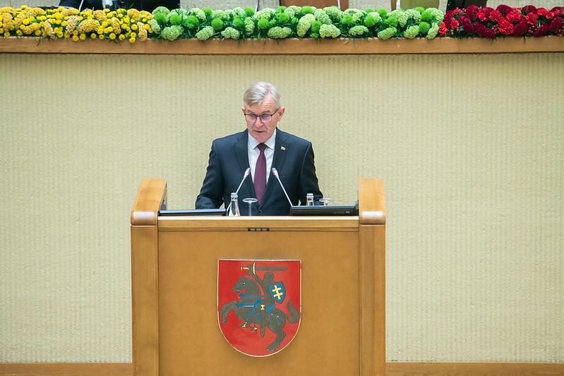 Viktoras Pranckietis   Seimo kanceliarijos nuotr.