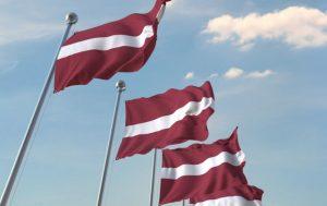 Latvijos vėliava   vrm.lt nuotr.