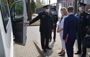 Ministrės apsilankymas Užsieniečių registracijos centre | vrm.lt nuotr.