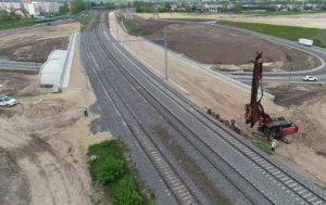 Geležinkelio tiesimas | sumin.lt nuotr