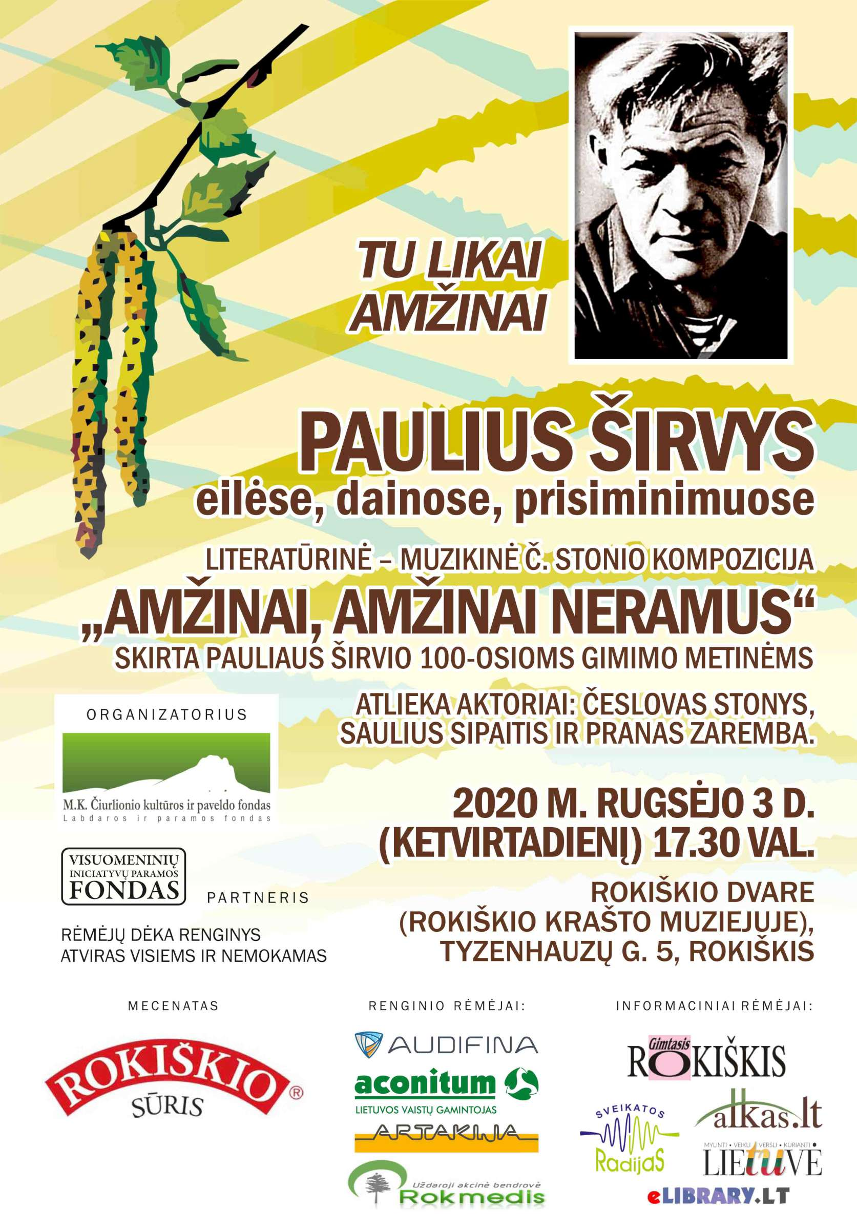 Afisa_Paulius Sirvys_Rokiskis_SP-2400