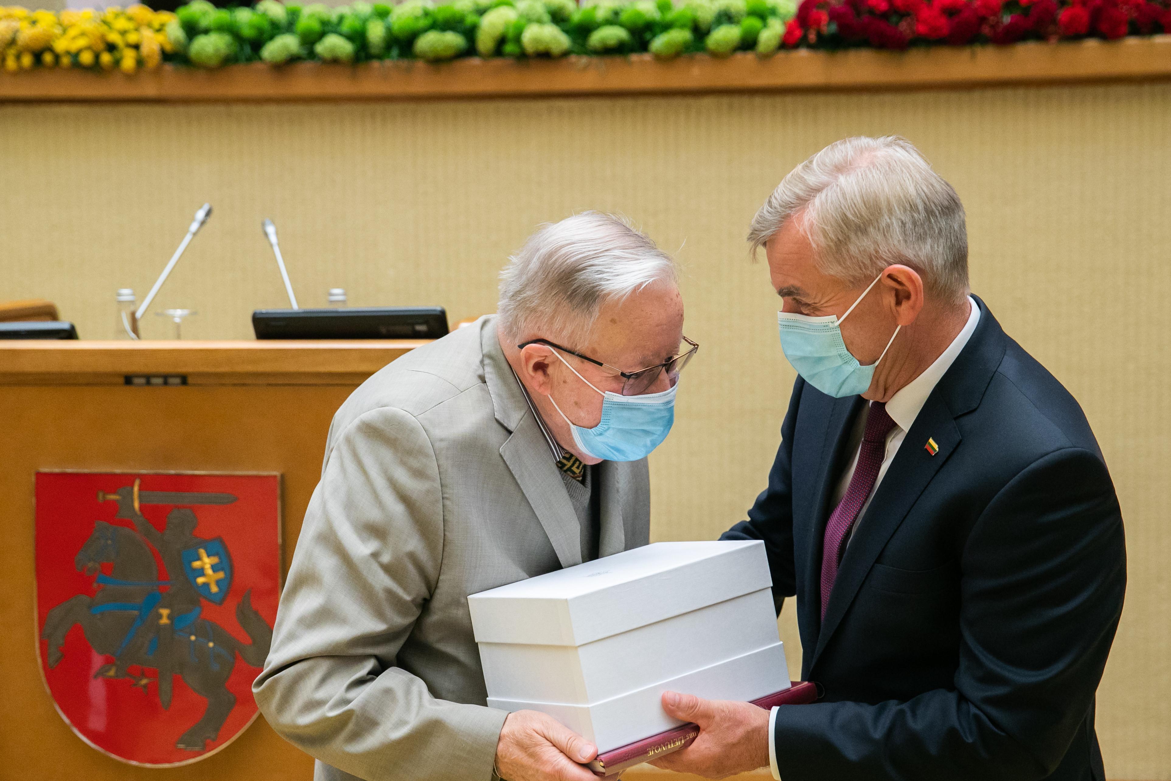 Vytautas Landsbergis   Seimo kanceliarijos nuotr.