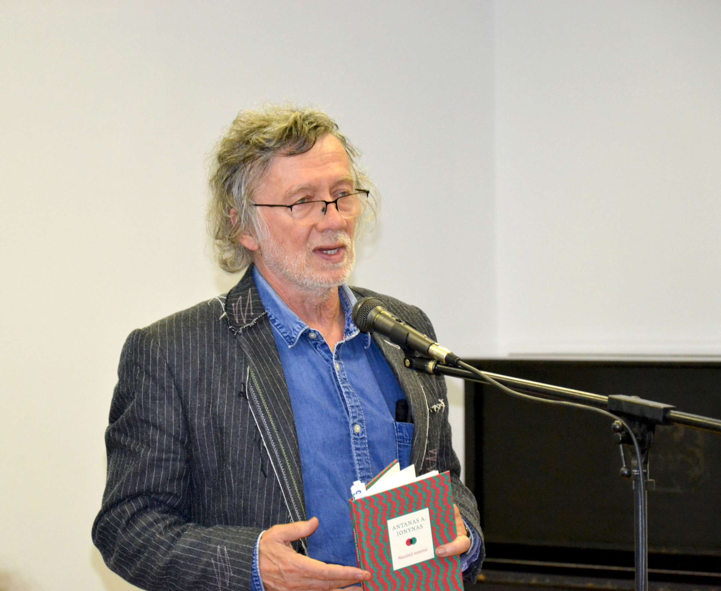 Poetas Antanas A. Jonynas | rengėjų nuotr.