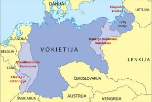 Europos sienos po Antrojo pasaulinio karo   smp2014is.ugdome.lt nuotr.