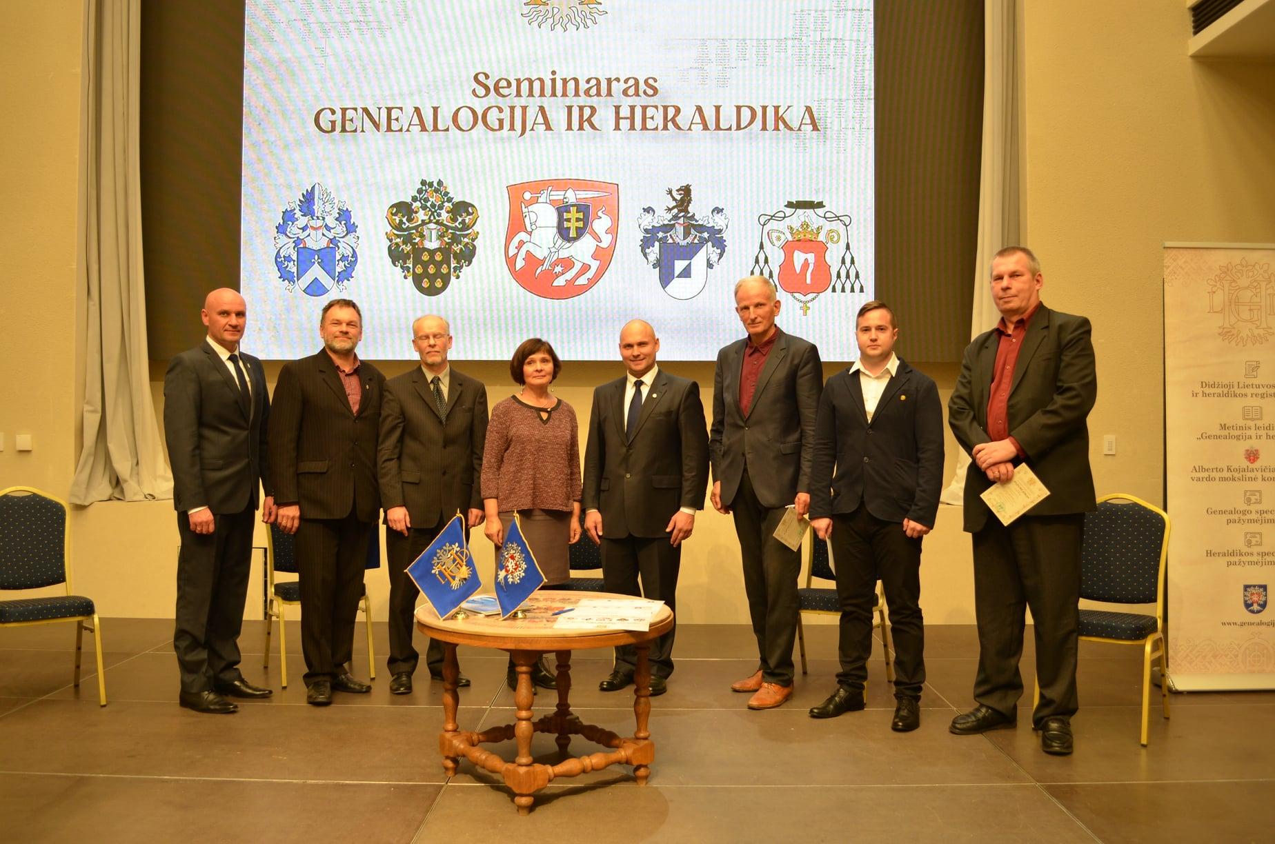Genealogai | Lietuvos genealogijos ir heraldikos draugijos nuotr.