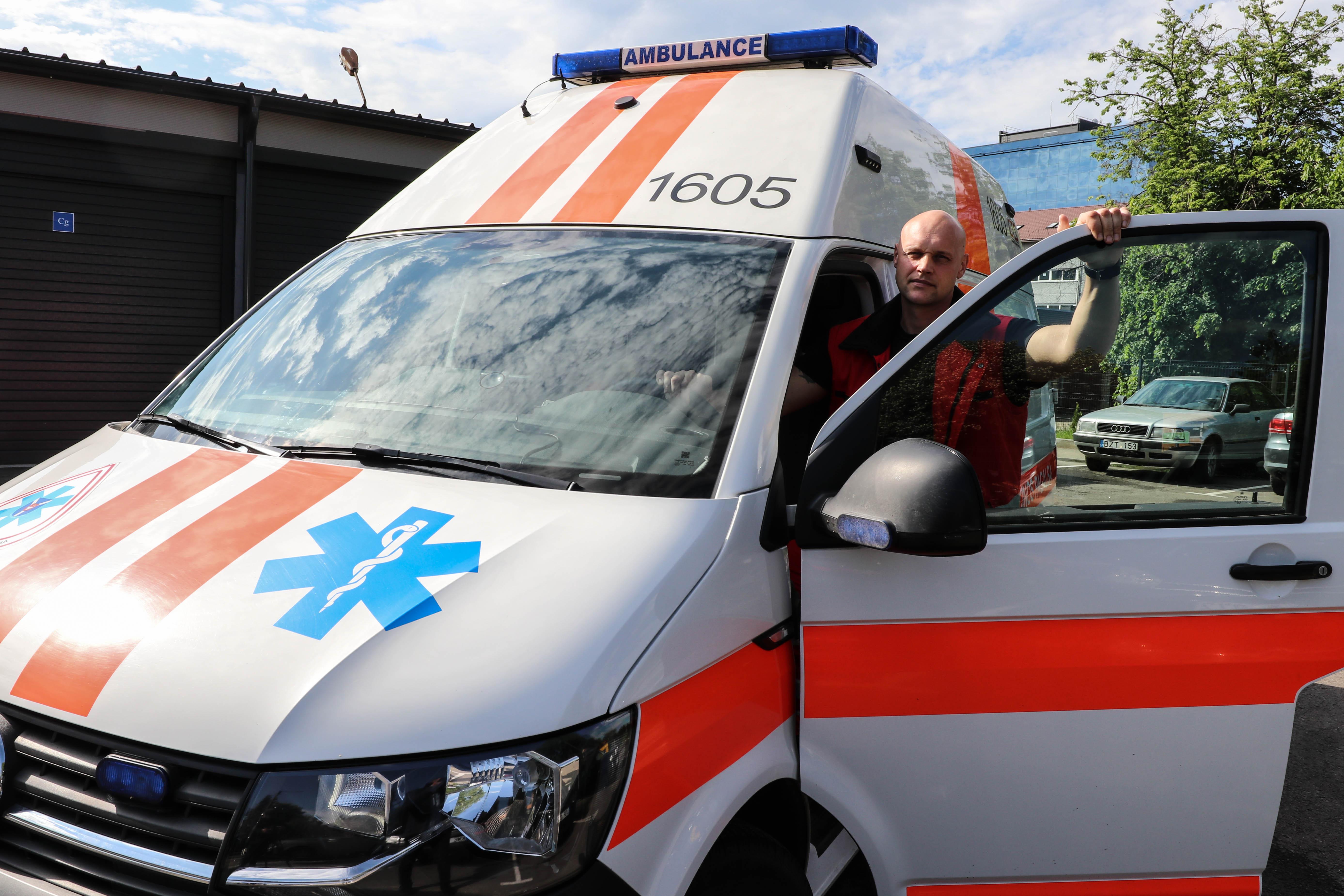 Paramediko profesija | Karaliaus Mindaugo profesinio mokymo centro nuotr.