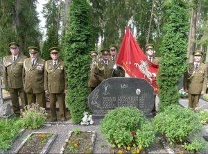 Vyžuonų krašte pagerbti žuvę partizanai | R. Kaminsko nuotr.